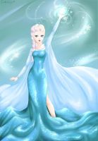 Elsa [Frozen] by CamiiW