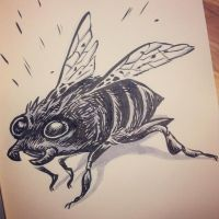 The Bee-Beetle by thegreck