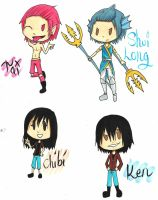 Chibis Chibis 99% by Blue-Fire-likes-pie