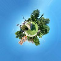Polar Panorama: Park Intersection by head-space88
