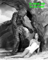 The Creature Black Lagoon by HalloweenMAGE