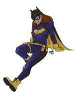Batgirl of Burnside by jaisamp