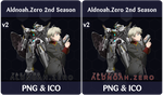 Aldnoah.Zero 2nd Season v2 - Anime Icon by Rizmannf