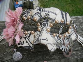 Clock-Themed Venetian Mask by AriMich