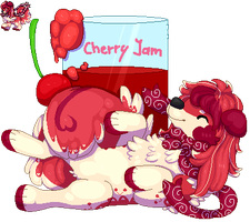 Cherry Jam Commissionsl by bellpup