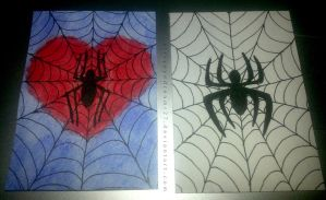 ACEO - Spider-Man Love by strryeyedreamr27