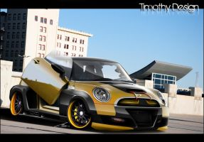 Mini Cooper S Wide Body Kit by Adry53