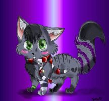 Lil Emo Cat by xPetalstormx
