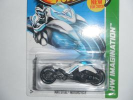 Max Steel Motorcycle 2013 Future Fleet (NM) White by Robat98