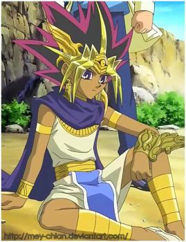 Pharaoh Atem by Mey-chian