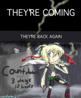THEY'RE EVERWHERE COUNTDOWN by HezuNeutral