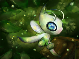 TVP: Celebi by Frozen-Wing