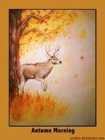 Autumn Morning by cordria