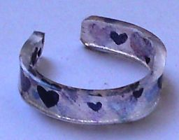 Purple hearts ring donation by Lovelyruthie