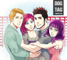Dog Tag cast (cute version) by meteoric-iron