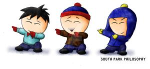 The Three South Park Boys by SouthParkPhilosopher