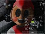 FNAF2 Toy Red by Emmajh97 by espioluvver