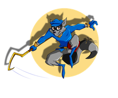sly cooper by Dark337