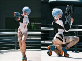 Rei Ayanami by prettyhatepictures