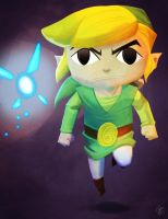 The Wind Waker - Digital Painting Practice by JoeHoganArt
