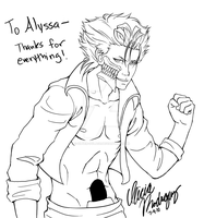 Gift - Grimmjow by Silver-Solace