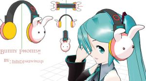 MMD- Bunny Phones -Download by MMDFakewings18