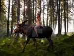 The king of the Forrest by JaninaN
