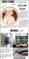 Acrylic Process: A Fancy Lad by SingularDisease