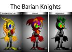Barian Knights Sonic Version by Fortuneteller102