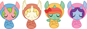 random baby adoptables (closed) by ivyhaze