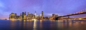New York Skyline by LinsenSchuss