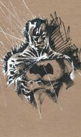 Batman sketch by JohnyBlazzze