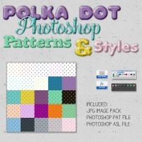 Seamless Dot Patterns by HGGraphicDesigns