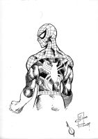 Spidey - DrinkNDraw 7-11-2009 by SheldonGoh