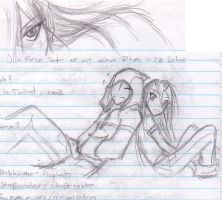 more sketchesss by Tyshea