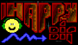 Happy Bit ANSI by roy-sac