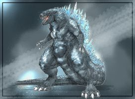 Godzilla 201X Legendary Pictures by Dezarath