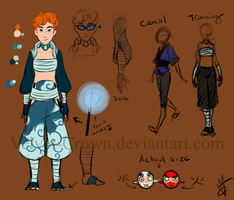 OC REF- Arashi by Velvet-Crown