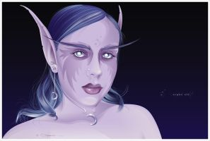 nightElf by cd-marcus