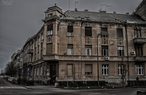 Old building in Novi Sad by mmirkovic