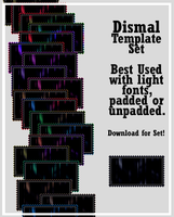 Dismal Stamp Templates by AssClownFish