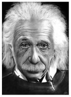 albert einstein by jovee