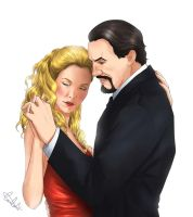 Lucy Saxon and The Master by MistressAinley
