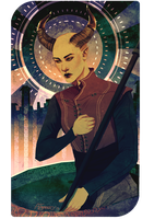 Tarot Commission - Aysun Adaar by shutterbones