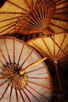 Umbrella factory, Myanmar 6 by NataliaCiobanu