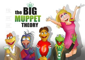 The Big MUPPET theory. by raggyrabbit94