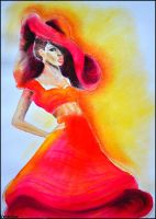 Fashion illustration 1. by Verenique