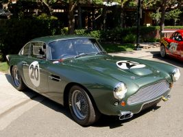 1 of 25 Aston DB4 Lightweights by Partywave
