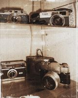 old cameras by 97lessi