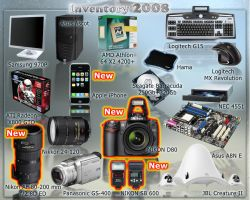 My Inventory 2008  part II by klen70